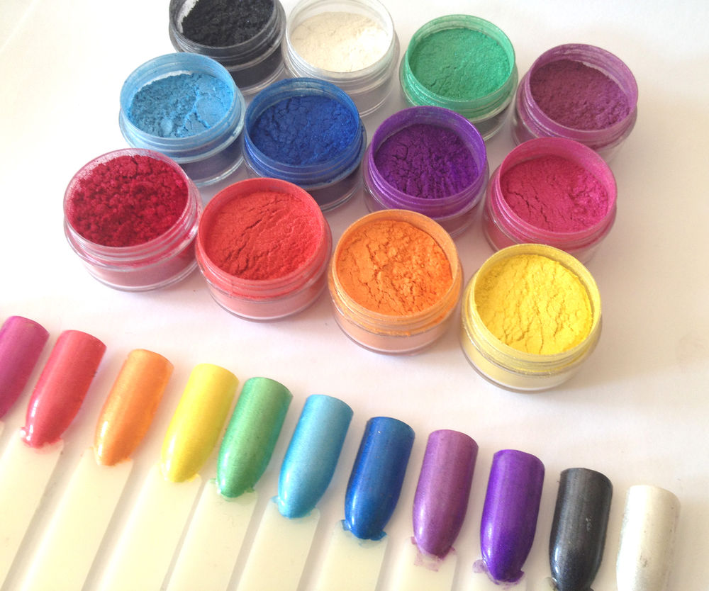 Mica And Pigments Powder