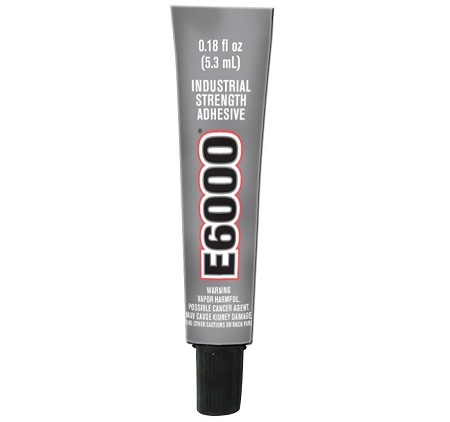 E-6000 Industrial Strength Glue 0.18 Oz Adhesive Permanent Bond Multi Purpose