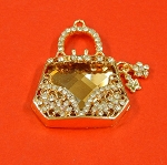 Rhinestones Fashion Purse Embellishment