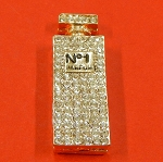 Chanel No1 Parfum Bottle With Rhinestones Accents Embellishment