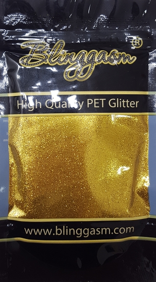 Metallic Solvent Resistant Blinggasm Polyester Glitter 3.5 oz By Weight .008 Or .015 Choose Size From Menu #6 B0205