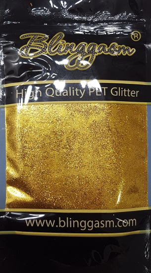 Metallic Solvent Resistant Blinggasm Polyester Glitter 3.5 oz By Weight .008 Or .015 Choose Size From Menu #5 B0204