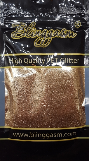 Metallic Solvent Resistant Blinggasm Polyester Glitter 3.5 oz By Weight .008 Or .015 Choose Size From Menu #10 B0213