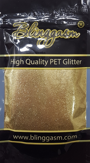 Metallic Solvent Resistant Blinggasm Polyester Glitter 3.5 oz By Weight .008 Or .015 Choose Size From Menu #11 B0214