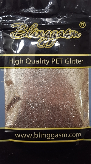 Metallic Solvent Resistant Blinggasm Polyester Glitter 3.5 oz By Weight .008 Or .015 Choose Size From Menu #13 B0222