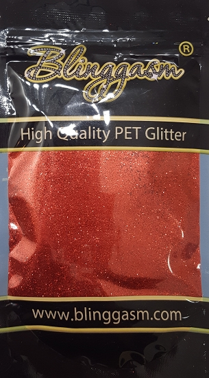 Metallic Solvent Resistant Blinggasm Polyester Glitter 3.5 oz By Weight .008 Or .015 Choose Size From Menu #15 B0301