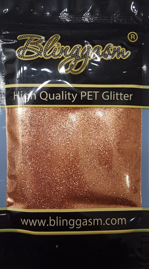 Metallic Solvent Resistant Blinggasm Polyester Glitter 3.5 oz By Weight .008 Or .015 Choose Size From Menu #20 B0400A