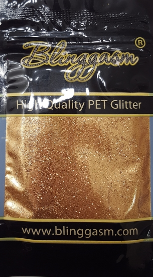 Metallic Solvent Resistant Blinggasm Polyester Glitter 3.5 oz By Weight .008 Or .015 Choose Size From Menu #22 B0403