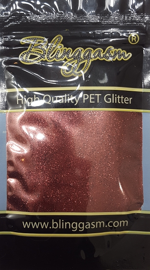 Metallic Solvent Resistant Blinggasm Polyester Glitter 3.5 oz By Weight .008 Or .015 Choose Size From Menu #23 B0405
