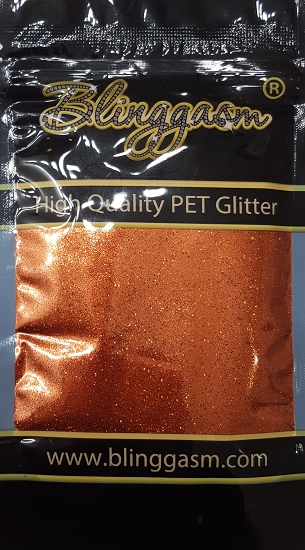 Metallic Solvent Resistant Blinggasm Polyester Glitter 3.5 oz By Weight .008 Or .015 Choose Size From Menu #26 B0409