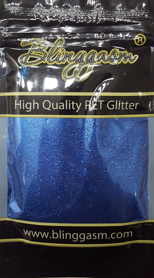 Metallic Solvent Resistant Blinggasm Polyester Glitter 3.5 oz By Weight .008 Or .015 Choose Size From Menu #42 B0705 BORLAND