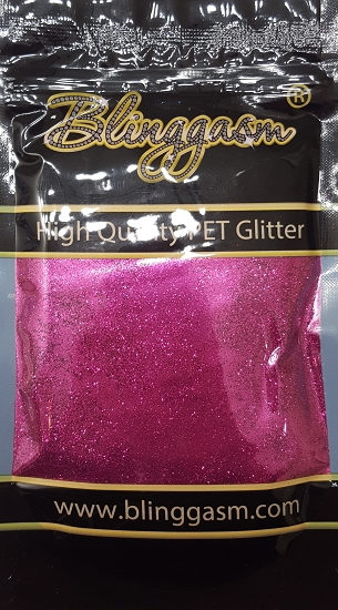 Metallic Solvent Resistant Blinggasm Polyester Glitter 3.5 oz By Weight .008 Or .015 Choose Size From Menu #54 B0903