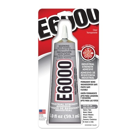 E-6000 Industrial Strength Glue 2 Oz Adhesive Permanent Bond Multi Purpose