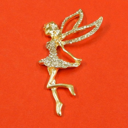 Fairy Angel With Rhinestones Accents  Embellishment