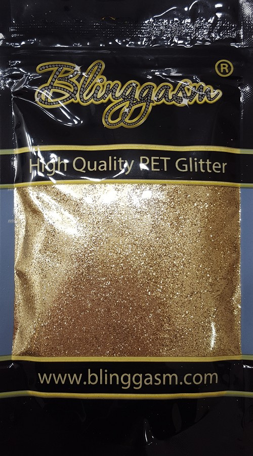 Metallic Solvent Resistant Blinggasm Polyester Glitter 3.5 oz By Weight .008 Or .015 Choose Size From Menu #7 B0206