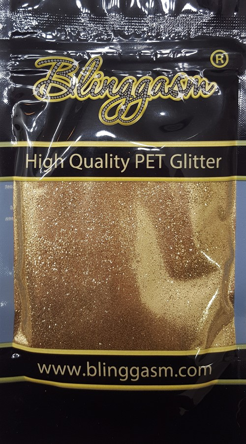 Metallic Solvent Resistant Blinggasm Polyester Glitter 3.5 oz By Weight .008 Or .015 Choose Size From Menu #9 B0210