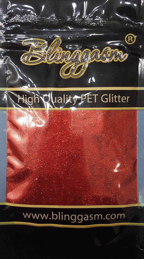 Metallic Solvent Resistant Blinggasm Polyester Glitter 3.5 oz By Weight .008 Or .015 Choose Size From Menu #18 B0306