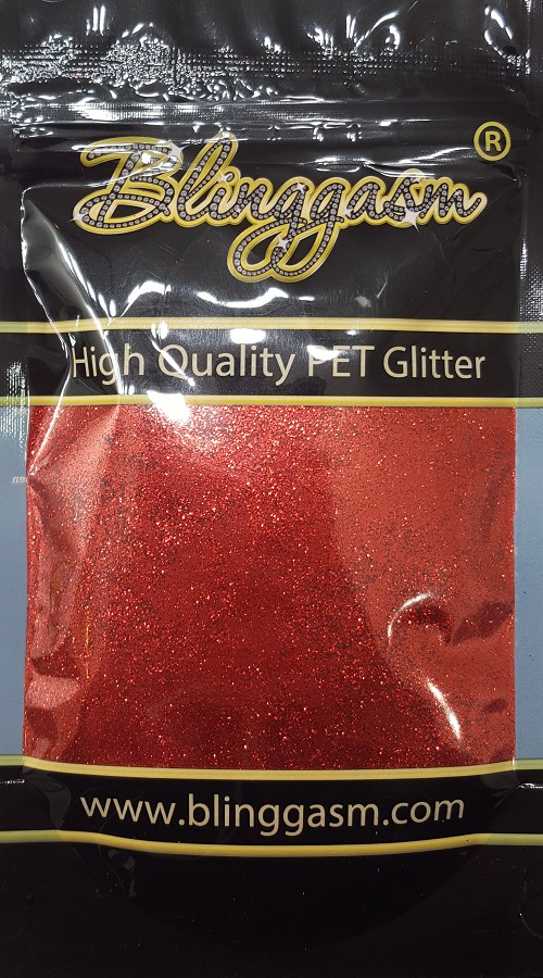 Metallic Solvent Resistant Blinggasm Polyester Glitter 3.5 oz By Weight .008 Or .015 Choose Size From Menu #19 B0308