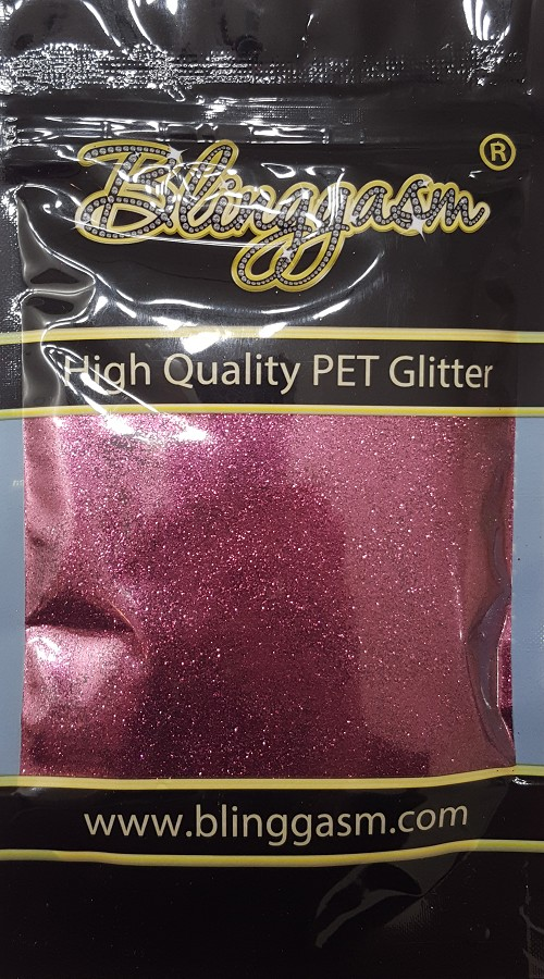 Metallic Solvent Resistant Blinggasm Polyester Glitter 3.5 oz By Weight .008 Or .015 Choose Size From Menu #24 B0407 Dr Maroon