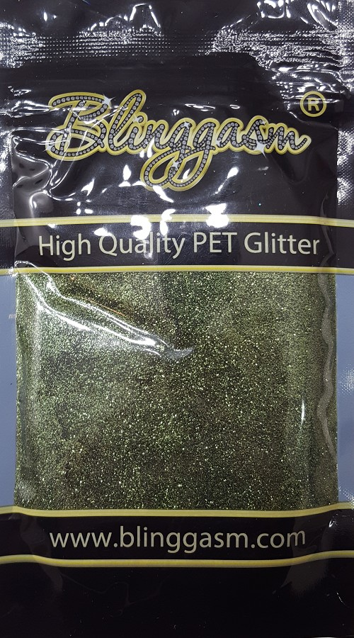Metallic Solvent Resistant Blinggasm Polyester Glitter 3.5 oz By Weight .008 Or .015 Choose Size From Menu #37 B0621