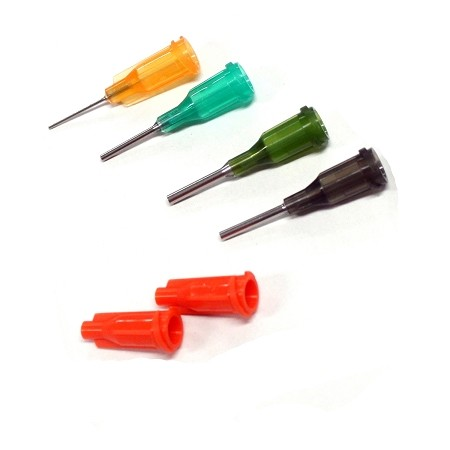 Needles And Caps For Glue Dispensing